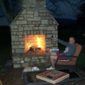 Patio fireplace Preview