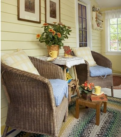 Bright Porch and Patio Decorating Ideas Main Image