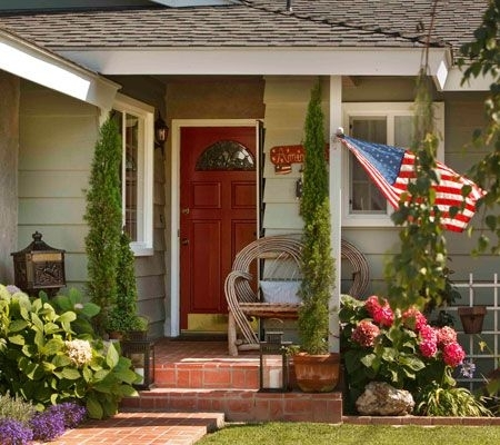 Bright Porch And Patio Decorating Ideas Image 3