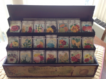 Antique seed box Main Image