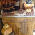 Fall inspired kitchen and dining room Preview