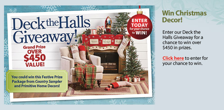 Deck the Halls Giveaway