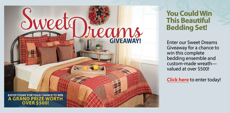 Sweet Dreams Giveaway