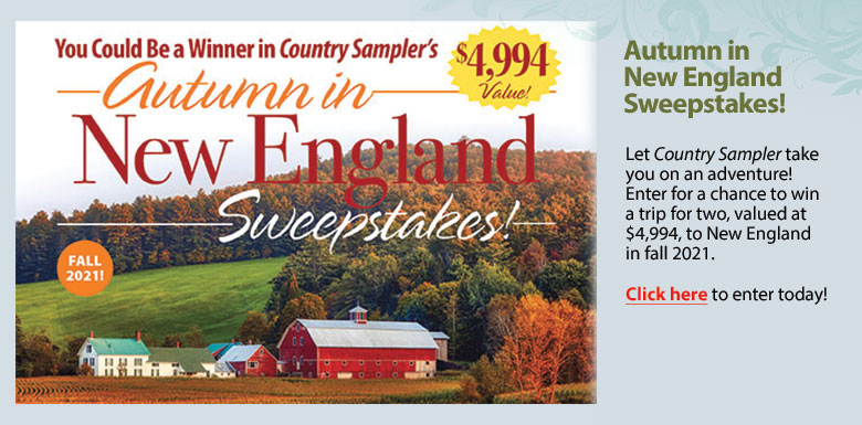 Autumn in New England Sweepstakes