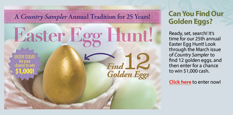 Easter Egg Hunt Contest