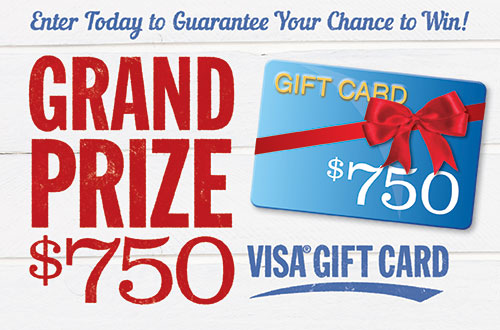 <em>Country Sampler</em> $750 Visa Gift Card Giveaway