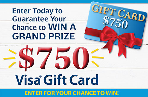 Country Sampler's $750 Visa Gift Card Giveaway!