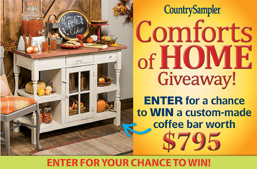 Country Sampler's Comforts of Home Giveaway!