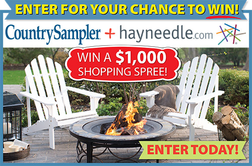 Country Sampler's Hayneedle $1,000 Shopping Spree Giveaway!