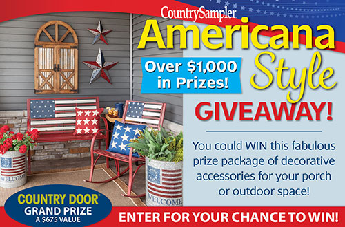 Country Sampler's Americana Style Giveaway!