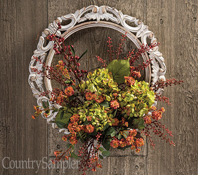 Fancy Frame Wreath