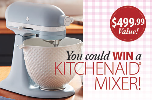 Country Sampler 2021 KitchenAid Mixer Giveaway