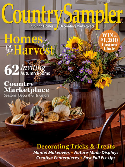 September Decorating Ideas Beauteous Country Sampler  September 2017 Inspiration