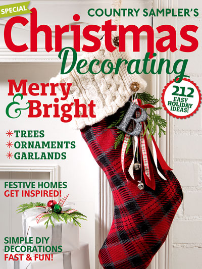 order the country samplers christmas decorating 2016 issue