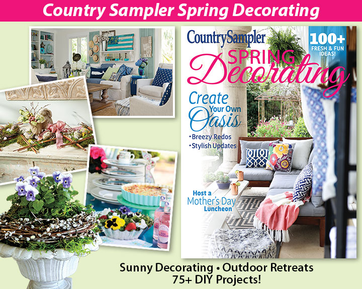 Country Sampler Spring Decorating