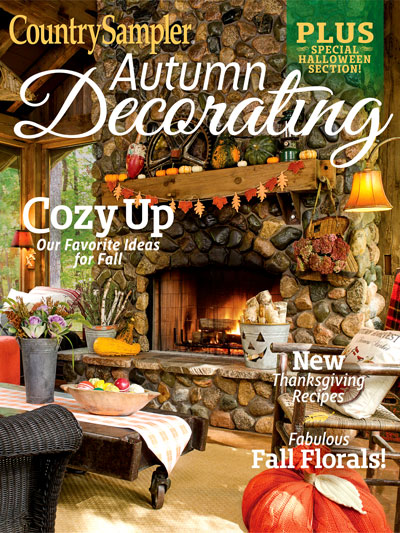 Country Sampler | Country Sampler Autumn Decorating 2018
