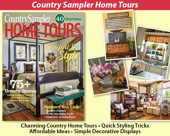 Country Sampler Home Tours