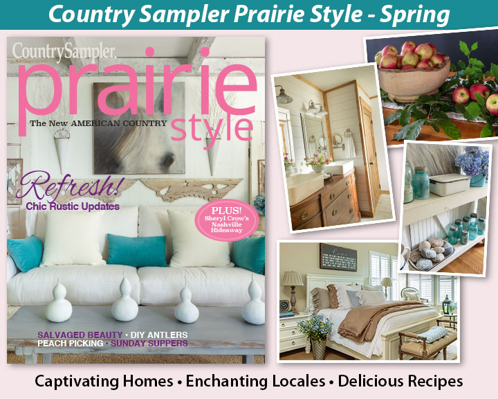 Country Sampler Prairie Style Spring