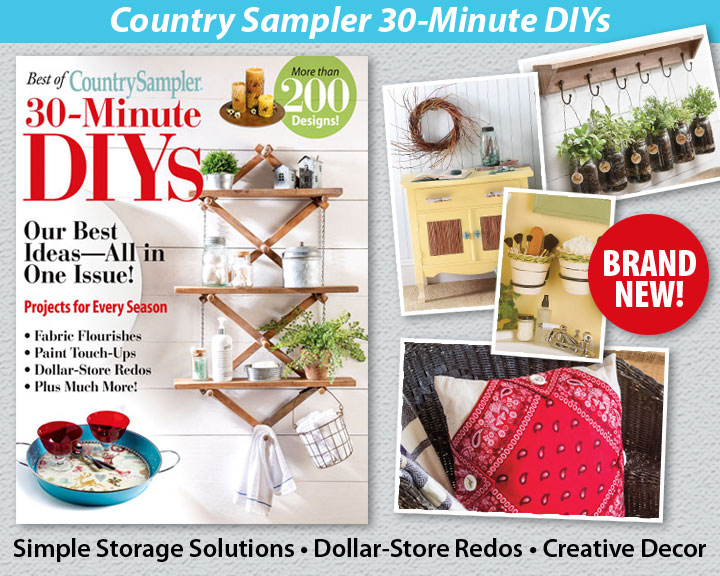 Country Sampler 30-Minute DIYs