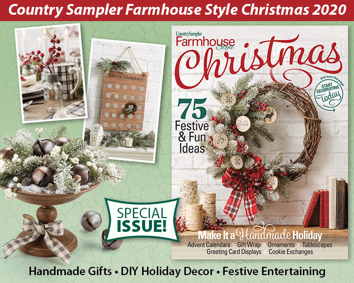 Country Sampler Christmas Decorating 2020 Country Sampler :: Special Issues